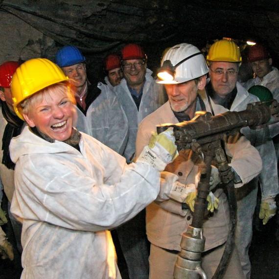 Eventfotografie Höhlenausflug