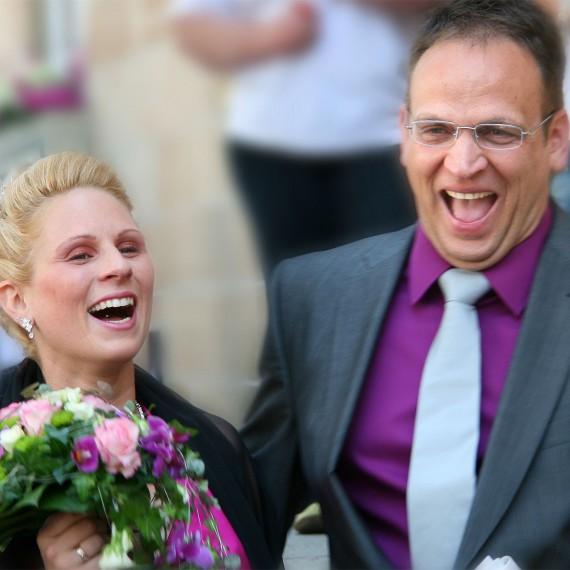 Hochzeitsfotografie glückliches Paar