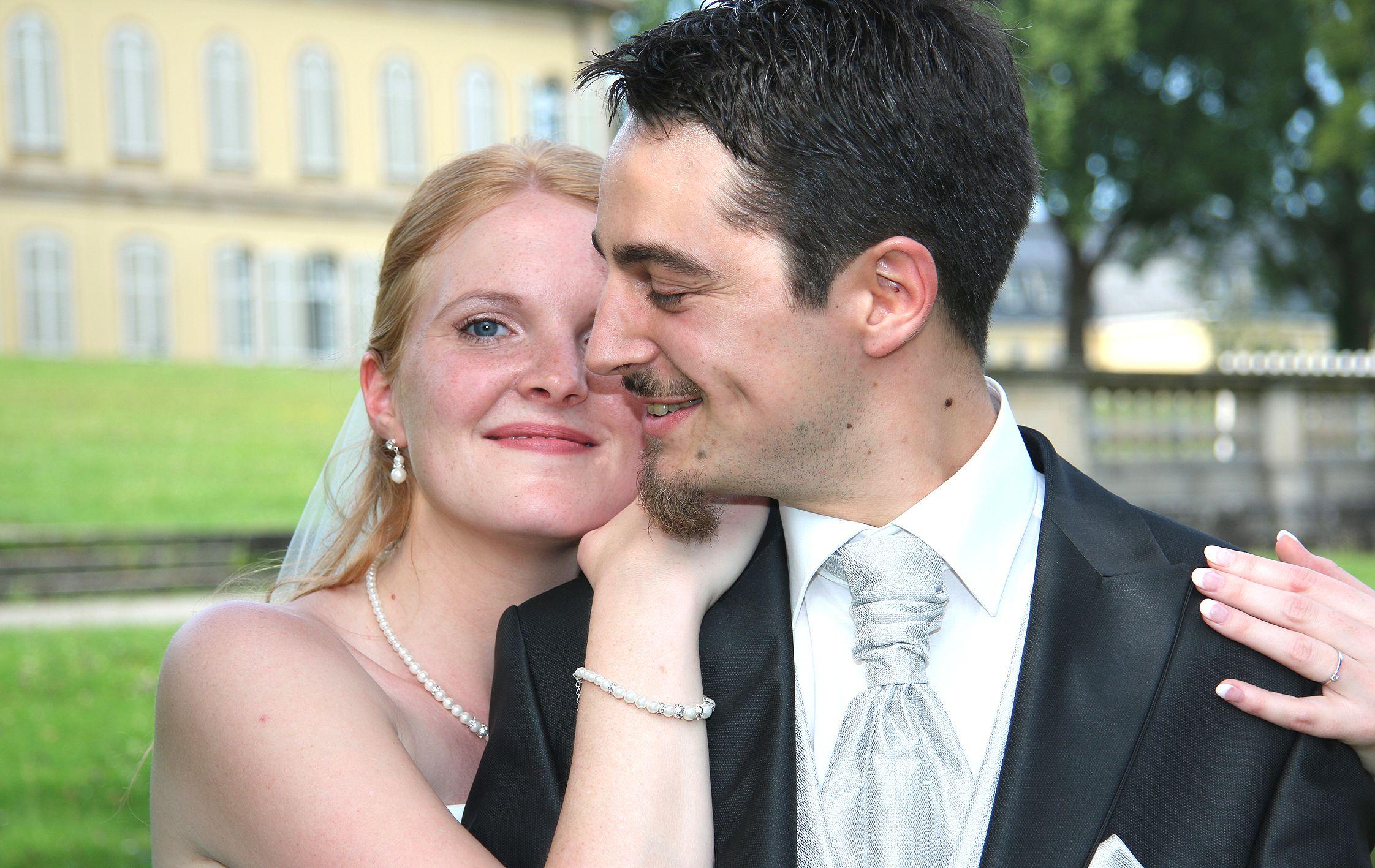 Hochzeitsfotografie Schlosspark Stuttgart