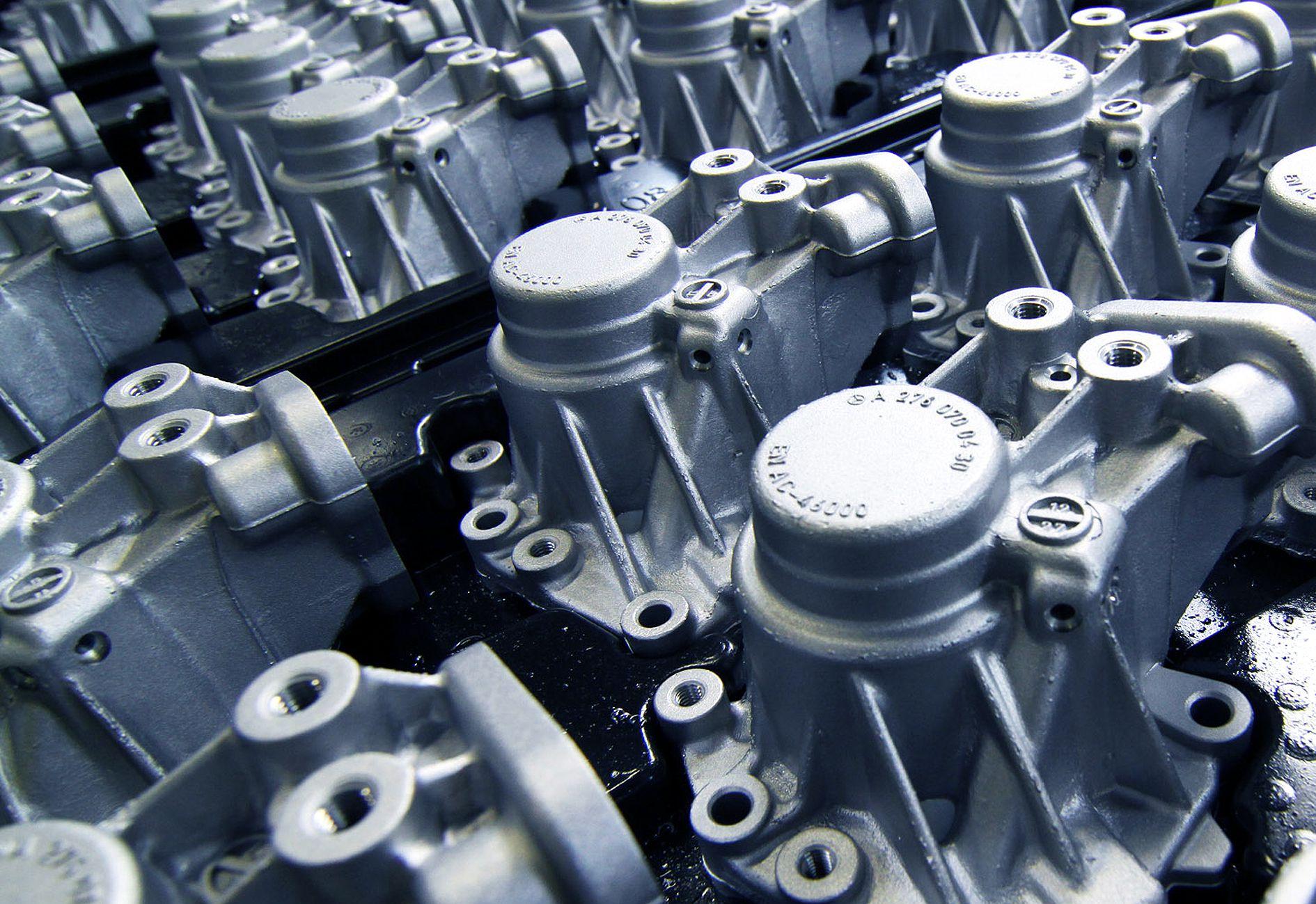 Industriefotografie Metalllandschaft